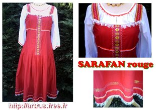 01.Sarafans rouges